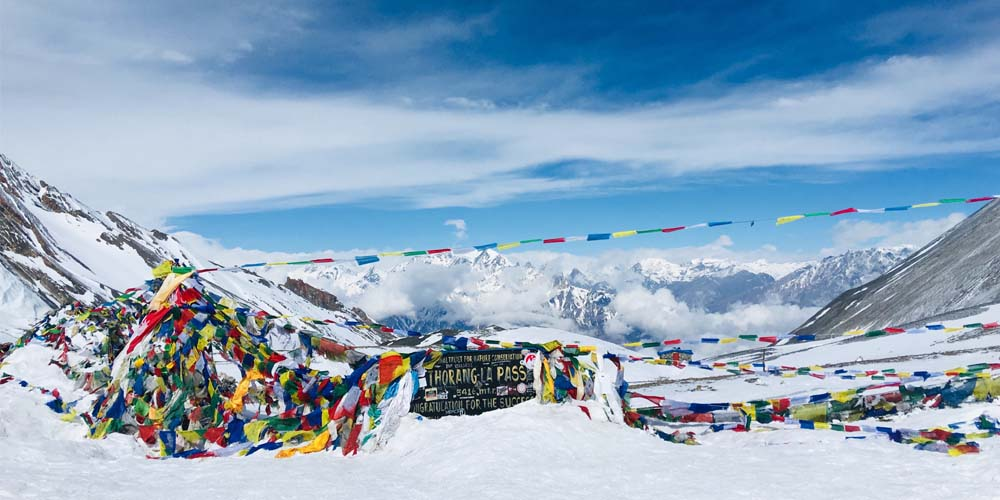 Annapurna Circuit Trek fly out Jomsom