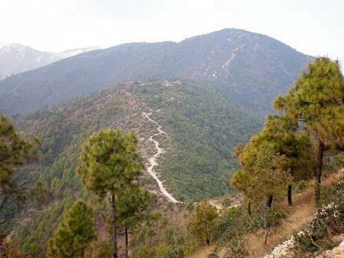 Champadevi Hiking