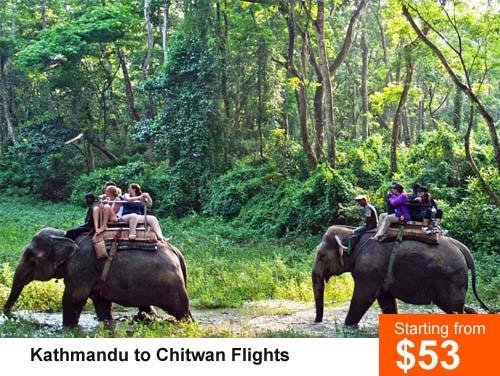 Kathmandu to Chitwan Flight
