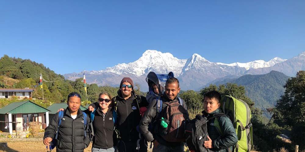 Family Trek in Nepal