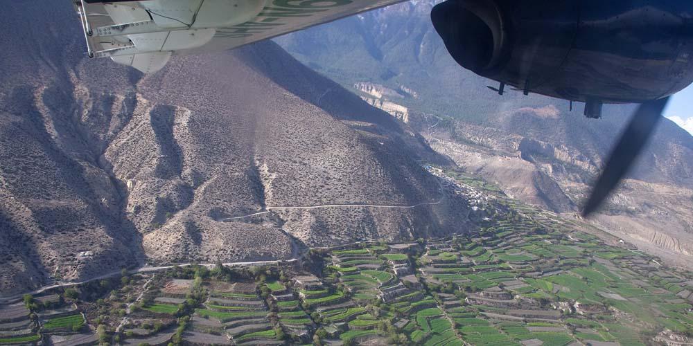 Jomsom to Pokhara Flight