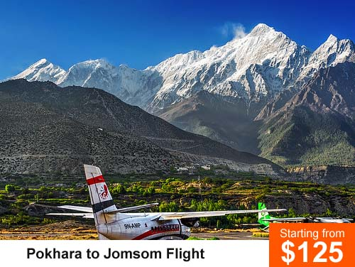 Pokhara to Jomsom Flight