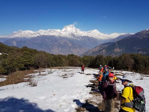 Poon Hill Trek 4 days from Pokhara