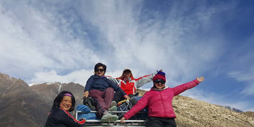Upper Mustang Jeep Tour